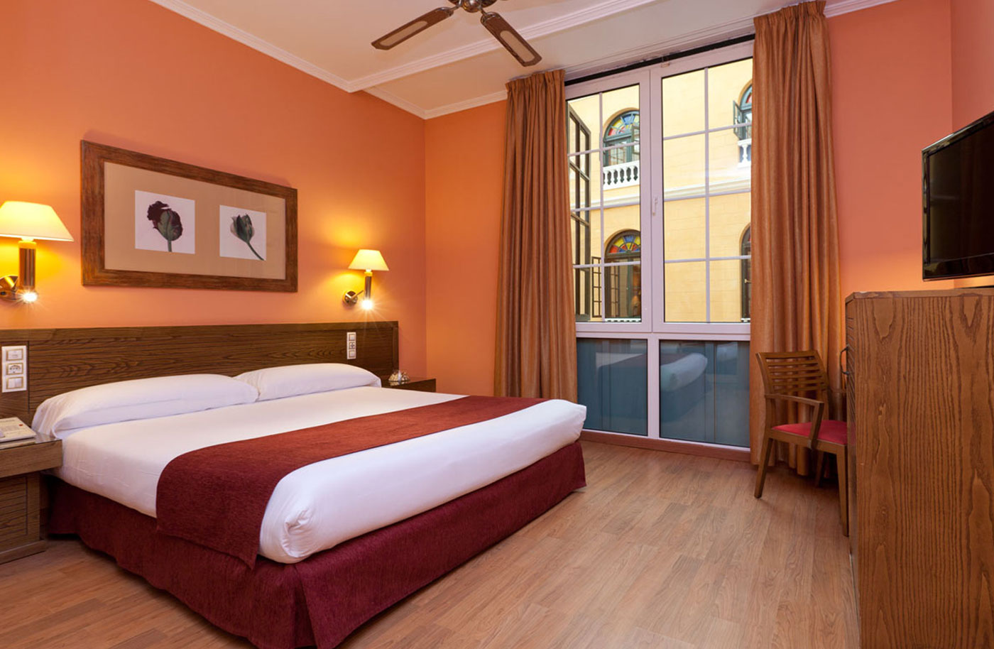 Rooms senator c diz spa hotel official website for Habitaciones para hoteles